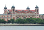 Exterior of restored Ellis Island main building, Island One.